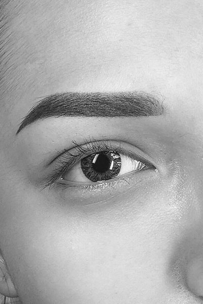 Powder eyebrow Melbourne, Ombre Eyebrows Melbourne, Eyebrow Tattooing Melbourne | Elle D Cosmetic Tattooing Melbourne