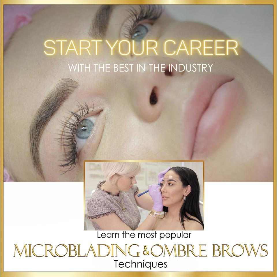 Beginner Microblading & Ombre Brows